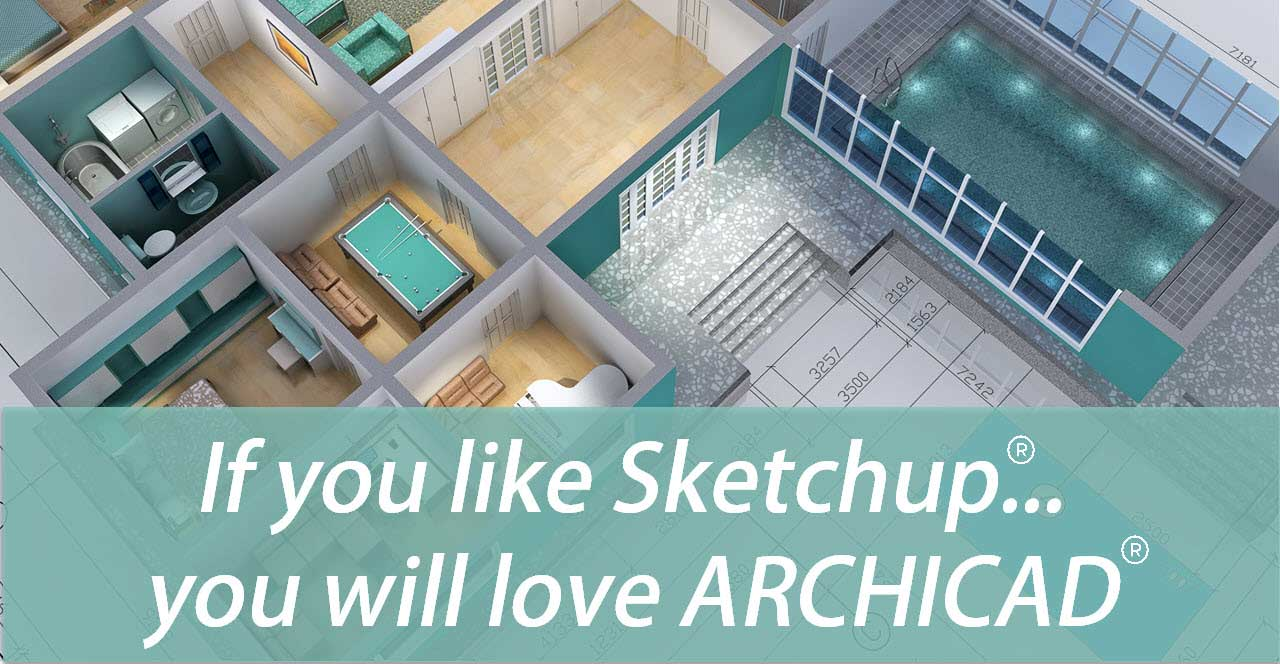 Sketchup to ARCHICAD